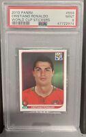 2010 PANINI WORLD CUP STICKERS 559 CRISTIANO RONALDO PORTUGAL PSA 9 47722974