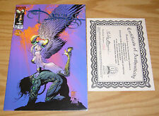 the Darkness #½ Vf/Nm dynamic forces wizard blue foil Coa (#446 of 999) 1/2 half