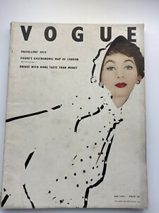 VOGUE Magazine 1953 May COMPLIMENTARY GIFT WRAP Fast Dispatch