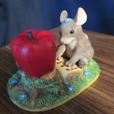 Charming Tails Figurine, 'Maxine Goes Online' Mouse, 89/702 by Fitz and Floyd