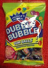 America's Original Double Dubble Bubble GUM BALLS Individually Wrap Fruit Flavor