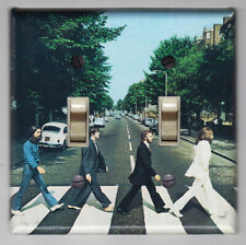 Beatles Abby Road Double Light Switch Cover Plate - Home Decor