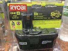 Ryobi P105 18-volt One+ Lithium Ion High Capacity Battery NEW!