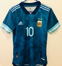 2020 Argentina Away Jersey Messi #10 Climachill Match Player Issue Version Slim
