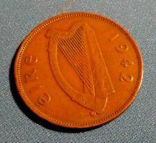 Irish Penny 1942