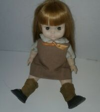 1966 Girl Scout Brownie Doll 10 inches tall with Poseable legs and arms