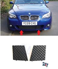 NEW BMW E60 M SPORT FRONT BUMPER LOWER SIDE MESH GRILL TRIM PAIR SET LEFT RIGHT