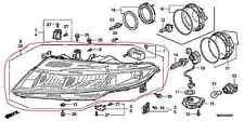 OEM SCHEINWERFER HALOGEN H7   LINKS   HONDA CIVIC FK/FN BJ. 2006-2011