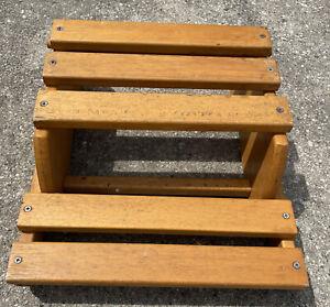 Vintage Childrens STEP 'N CHAIR Kids Convertible Step Stool Chair