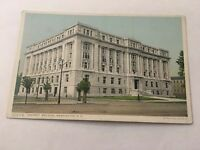 Vintage Postcard Unposted District Building  Washington DC