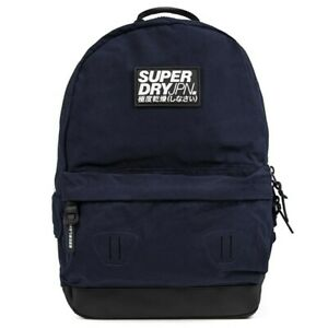 SUPERDRY Mens Classic Montana Backpack Blue