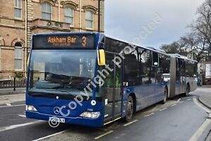 BG58 OLV 11104 First York 9th Jan 2019 bus photo/magnet /keyring/mousemat