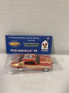 Hot Wheels 1970 Chevelle SS- LE - 8th Annual CarRonald McDonald Charities Baggie