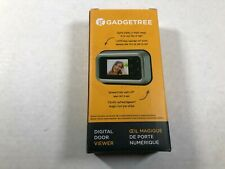 Gadgetree Digital Door Viewer Digital LCD display zoom capabilities NEW SEALED