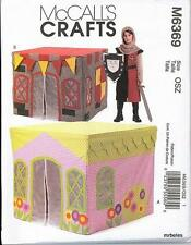 Childs Card Table Tents Playhouse OOP McCalls Sewing Pattern 6369