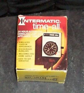 New Intermatic Time-All 24 Hour  Automatic Lamp & Appliance Timer