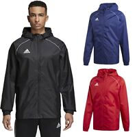 Adidas Mens Lightweight Rain Jacket Waterproof Coat Top Hooded Wind Stopper