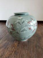 Celadon Chinese Vase Bai Mu Gong