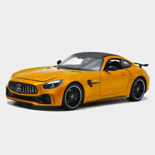 Mercedes-AMG GT R Sports Car 1/24 Model Car Alloy Diecast Gift Yellow Collection