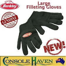BRAND NEW Berkley Large Filleting Gloves: Fishing Tools
