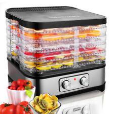 5-Trays Food Dehydrator Machine Electric Multi Tier Fruit Vegetable Preserver Us