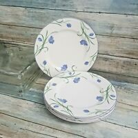 """Set of four-MIKASA GARDEN POETRY CASUAL CLASSICS SALAD PLATES, 8 3/8"""" Y4005"""