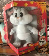 Vtg 1996 Looney Tunes Loveables Baby Bugs Bunny New In Box Christmas Warner Bros