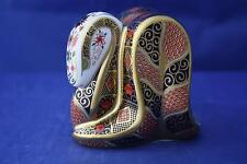 ROYAL CROWN DERBY OLD IMARI SNAKE PAPERWEIGHT MMXIV - NEW/BOXED