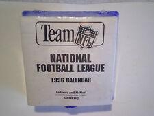 1996 NATIONAL FOOTBALL LEAGUE NFL CALENDAR (Sealed) WHEATIES,tear off pages