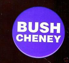 George W. BUSH + CHENEY old Classic 2000 LOGO Pin