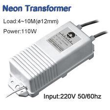Neon Electronic Transformer 10000V30mA110W 10Meter Neon Rectifier Power Supply