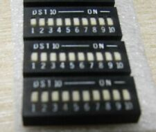 pack of 10 10 way DIP switches DST10