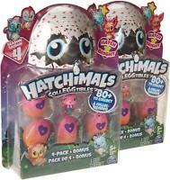 Hatchimals CollEGGtibles  4 Pack + Bonus (2-pack) Season 4 for girls & boys 5&up