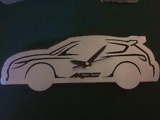 Custom Mazda MPS Stainless Steel Wall Clock 2.3 Turbo 3 Mk1 Xmas Stocking Filler