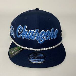 LA Chargers Official 2019 On Field New Era 9FIFTY Adjustable Snapback Hat NEW