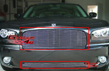Fits 2005-2010 Dodge Charger Billet Grille Combo 2006 2007 2008 2009