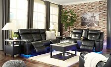 Ashley Furniture Kempton Reclining Sofa and Loveseat Living Room Set