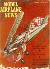 1961 Model Airplane News Magazine: 1961 Nationals Coverage/Dual Model-Wakefield