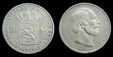 Netherlands - 2½ Gulden 1872 Zeer Fraai