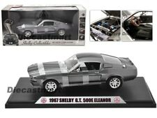 SHELBY COLLECTIBLES 1:18 1967 SHELBY GT500E ELEANOR DIECAST MODEL DISCONTINUED