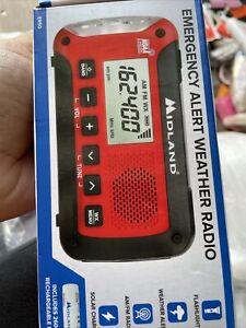BRAND NEW Midland Emergency Alert Wearher Radio