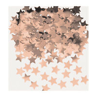 Rose Gold Stars Table Confetti Sprinkles Rose Gold Party Table Decorations