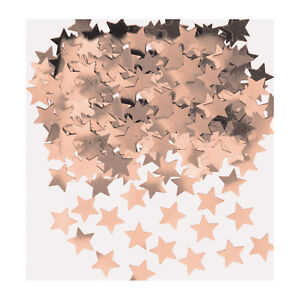 Rose Gold Stars Table Confetti Sprinkles Party Table Decorations
