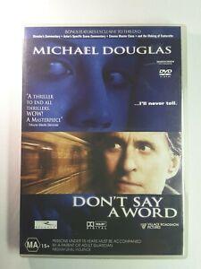 Don't Say A Word DVD - Thriller_Brittany Murphy, Sean Bean, Michael Douglas