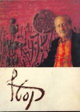 ISRAEL RARE CATALOG-BOOK ORIGINAL SIGNATURE MOSHE CASTEL , ALL ART WORK