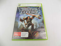 Mint Disc Xbox 360 Brutal Legend Works on Xbox One Free Postage