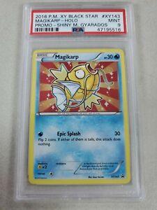 Pokemon PSA 9 Mint Shiny Magikarp XY143 Black Star Promo Ultra Rare
