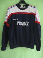 Sweat Adidas Vintage Equipe de France Porté FFF Ventex Vintage Jersey - 174 / M