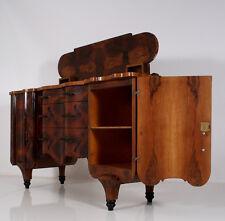 Art Deco Kredenz Buffet Sideboard cabinet Wurzelholz burr wood ITALIEN