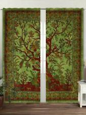 Cotton Tree Of Life Wall Hanging Door Window Curtain Tapestry Indian Bohemian